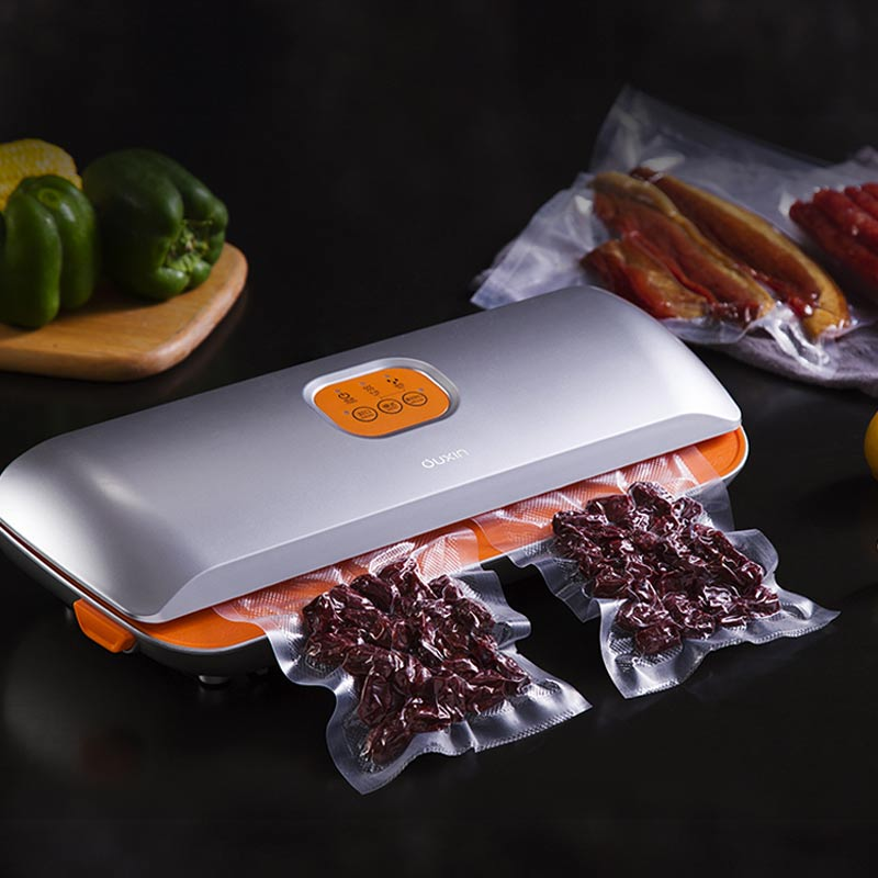 YTK Vacuum Sealer Best Fully Automatic Mini Portable Household Food Wet Dry AC240 110W 396* 146* 75mm Packaging Machine Sealing цена