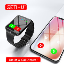 GETIHU Smart Watch DZ09 Digital Smartwatch Wrist with Men Bluetooth Electronics SIM Card For iPhone Samsung