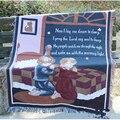 Молитва детское одеяло диван пледы хлопок вязаный ковер-гобелен гостиная диван подушка занавеска спинка полотенце декоративный чехол для ...