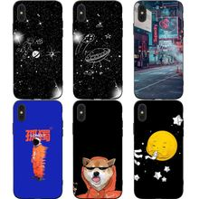 Cool Cute universe Phone Cases Cover for iphone X XR XS MAX 6 6s 7 8 Plus TPU Cover Coque For iphone 7 8Plus iphone 5SE Cases цены