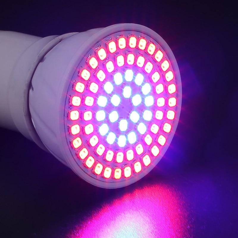 36W Full Spectrum Plant Grow Led Light Bulbs Lamp Lighting For Seeds Hydro Flower Greenhouse Veg Indoor Garden Hydroponics E27
