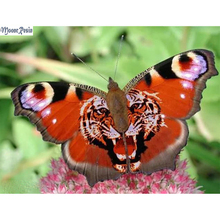 MOONCRESIN Diy Diamond Painting Tiger Butterfly Mosaic Full Embroidery Cross Stitch Decoration Square Paintings