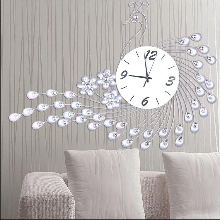 Home Decoration Wall Clock Modern Design Large Decorative Wall