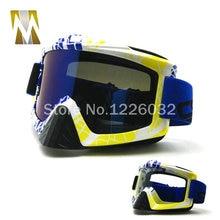 Новый Бесплатная доставка ШЛЕМ Очки Открытый мотоциклов Очки очки Мотокросс Мопедов Cruiser Шлем Очки лыжные Очки