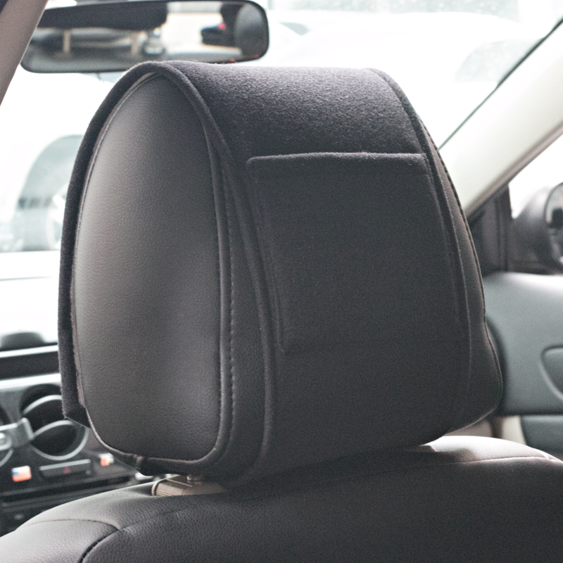 Image 3 - 1PCS Hot car headrest cover fit for NISSAN QASHQAI J10 J11 2011 2008 2018 2019 Accessories Car Styling-in Car Stickers from Automobiles & Motorcycles
