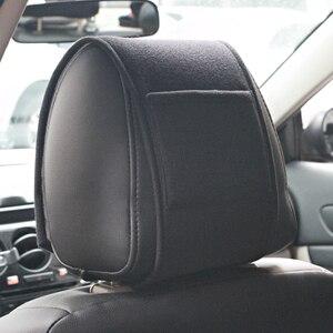 Image 3 - 1PCS חם רכב משענת ראש כיסוי fit עבור ניסן הקאשקאי J10 J11 2011 2008 2018 2019 אביזרי רכב סטיילינג