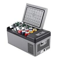 C15 15L AC DC портативный холодильник для автомобиля домашний Пикник Кемпинг вечерние светодиодный компрессор автомобильный холодильник авто к
