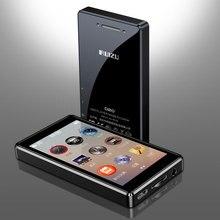 Ruizu reproductor MP4 d20 de Metal, pantalla táctil Ultra delgada de 8GB, reproductor de música MP3, pantalla de 3,0 pulgadas, reproducción de vídeo a Color con E book FM
