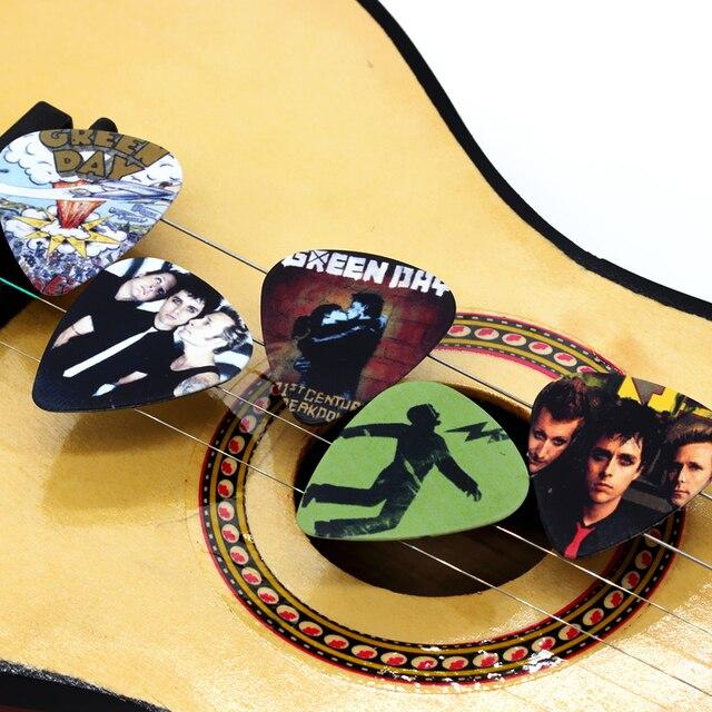 SOACH 50 pièces 0.71mm haute qualité guitare médiator deux côtés rock band médiator boucles doreilles bricolage Mix médiator guitare