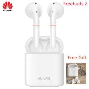 Image 3 - 2018 Newest HUAWEI FreeBuds 2 Pro TWS Bluetooth 5.0  Wireless Earphone with Mic Music Touch Waterproof Headset
