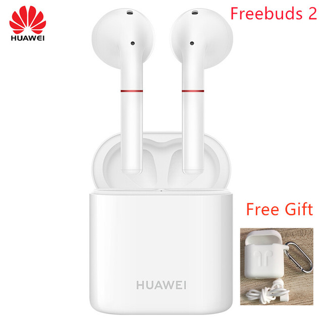2018 Newest HUAWEI FreeBuds 2 Pro TWS Bluetooth 5.0  Wireless Earphone with Mic Music Touch Waterproof Headset 2