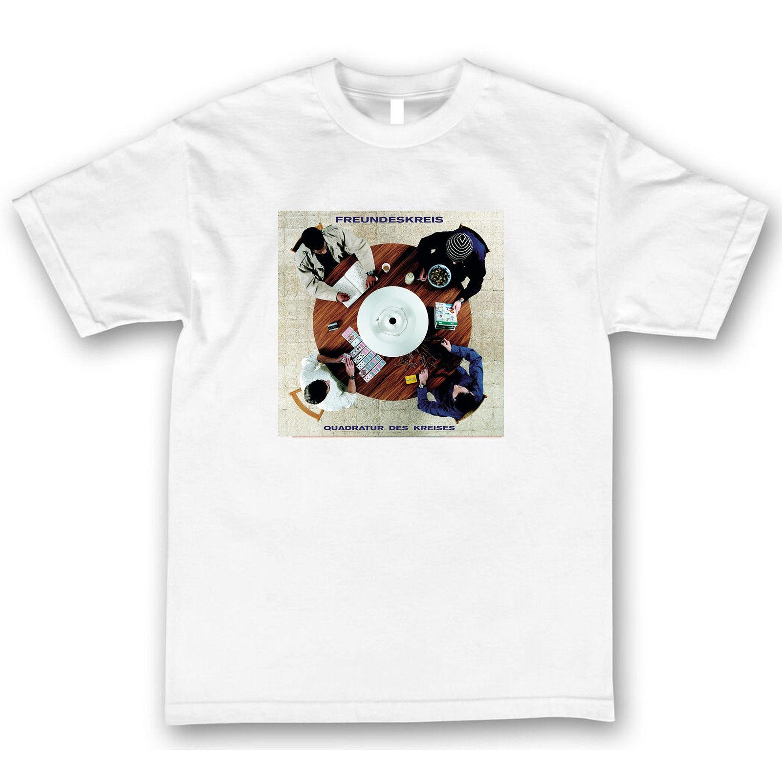 Freundeskreis Quadratur Des Kreises T Shirt Tee Shirt Hipster Harajuku Brand Clothing T-Shirt Sleeve T Shirt Homme