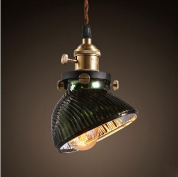 America Country Vintage Pendant Light With Glass Lampshade In Loft Industrial Pendant Lamp Handlamp Suspenison Luminaire cooking across america country comfort