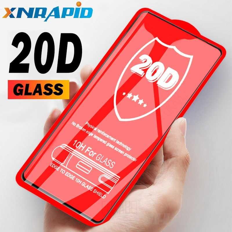 20D pegamento cubierta completa de vidrio templado para Xiaomi Red mi K20 Pro Note 7 Pro protector de pantalla para Xiaomi mi 9 T Pro