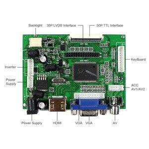 Image 4 - HDMI VGA 2AV LCD בקר לוח VS TY2662 V1 עבור 12.1 אינץ LQ121K1LG52 1280x800 LCD Scren