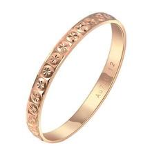 18K Gold Ring Pair Ring Lovers Couple Simple and Elegant Male Female Solid AU750 Wedding Engagement Hot Sale New Trendy Size7-18 цена в Москве и Питере