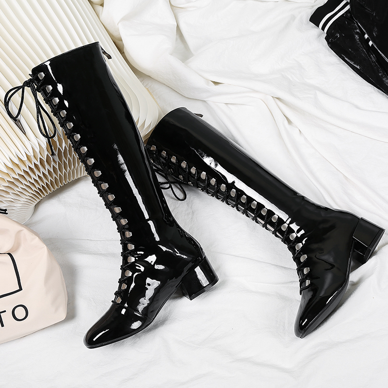 XiuNingYan Brand Women Boots Ladies Shoes Round Toe Footwear Unusual High Heels Female Boot Over The Knee Woman Summer ShoesXiuNingYan Brand Women Boots Ladies Shoes Round Toe Footwear Unusual High Heels Female Boot Over The Knee Woman Summer Shoes