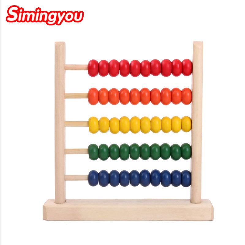 2019 Latest Design Montessori Educational Wooden Toys For Children Baby Toys 99 Multiplication Table Math Arithmetic Teaching Aids For Kids Strong Resistance To Heat And Hard Wearing Learning & Education
