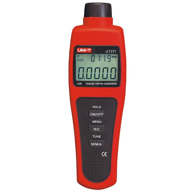 LCD Display Digital UNI-T UT372 USB Interface Range 10RPM-99999RPM Non-Contact Digital Tachometers lc171w03 b4k1 lcd display screens