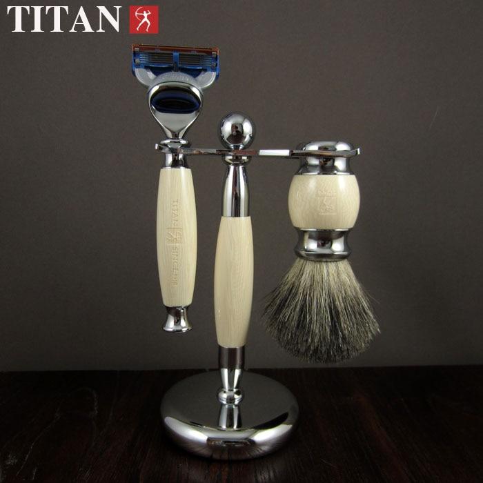 ФОТО shaving razor set with gift box   men's razor   beard  face razor set  free shipping