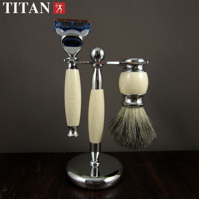shaving razor set with gift box   men's razor   beard  face razor set  free shipping