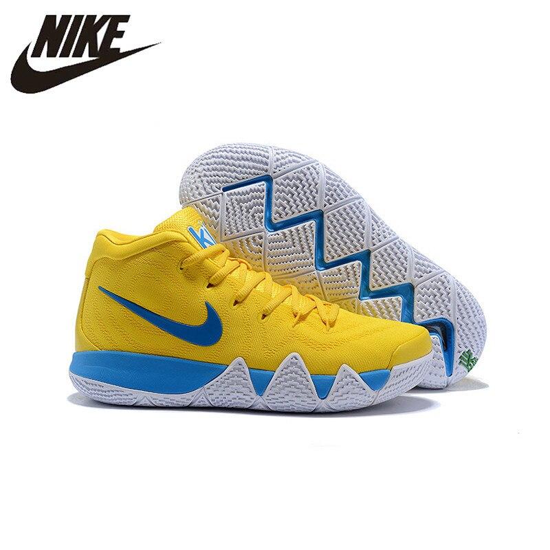 65eca78069f0d5 Nueva llegada Nike   Kyrie 4 Irving 4th generación confeti de Baloncesto de  los hombres zapatos