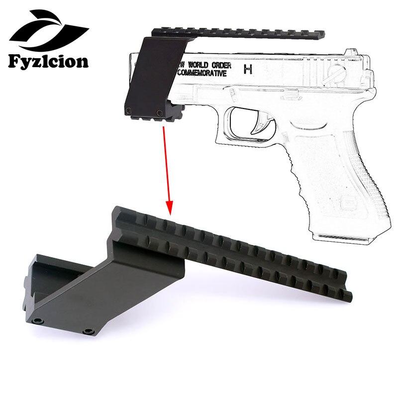 Scope-Mount Sights-Adaptor Laser-Flashlight Pistol Red Dot Picatinny Weaver Tactical