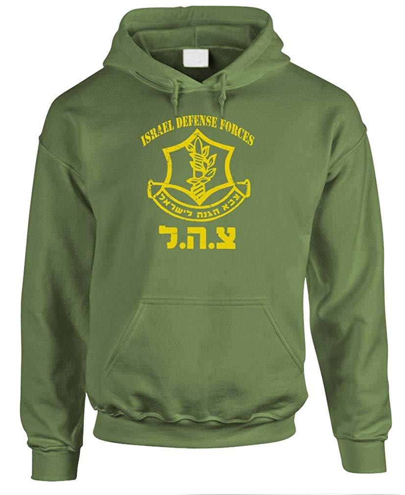 De La Con hombre Las Sudadera Fdi Israelí Fuerza Sudaderas Capucha Verde Defensa de wqnnIBCT4