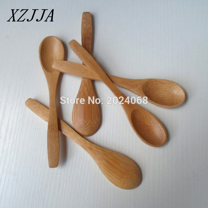 5pcs Natural Japanese Bamboo Wooden Spoon Kitchen Supplies Coffee Stirrer  Tea Honey Spoon Healthy Eco Friendly Wood Tableware In Spoons From Home U0026  Garden ...