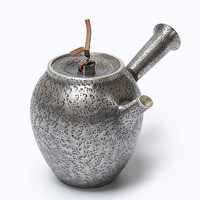 Pure Silver Wood burning Kettle Pure Manual Tea Boiling Japanese Silver Teapot Tea Ceremony