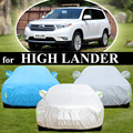 Highlander car cover for SUV special insulated vehicle protection thickening cover anit-freeze/sun/rain/wind