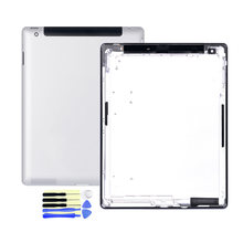 100% OEM Rear Housing For Apple iPad 4 5 6 Wifi / 3G Wifi/3G Battery Cover Durable Protective Back Cover Case Replacement Parts(China)