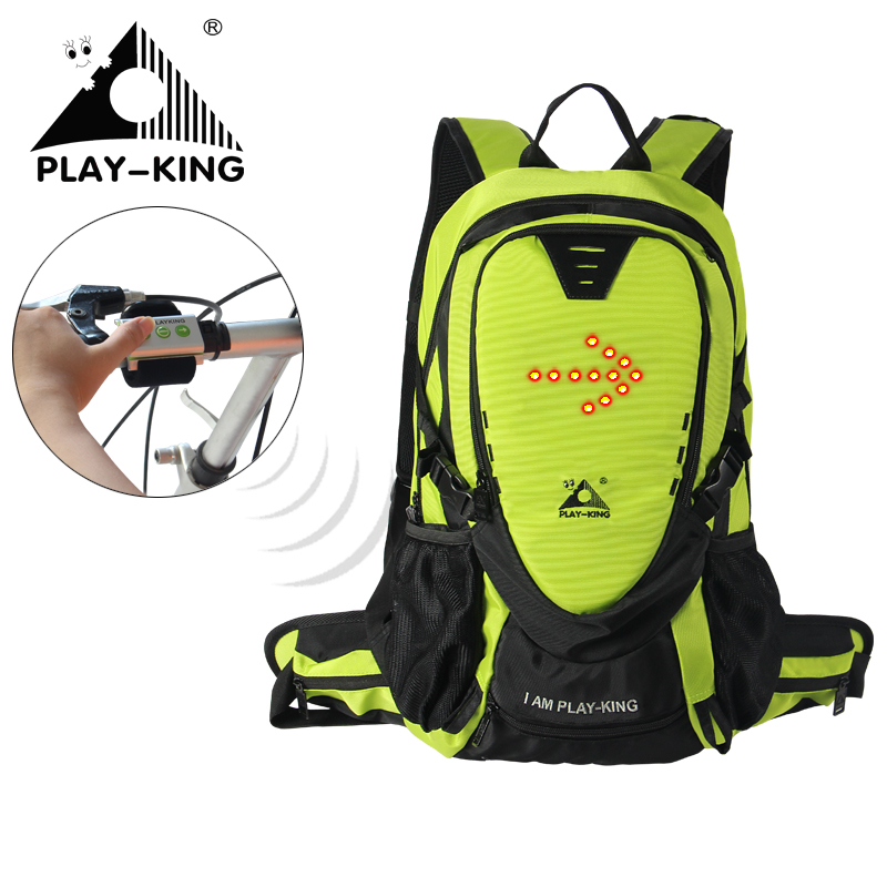 PLAYKING Cycling Suspension Backpack Sport Bike Mochila 30L Outdoor Camping Hiking Nylon Bag Rainproof Riding Equipment Unisex bicycle bag camping sport riding backpack 2017 mtb outdoor equipment suspension breathable backpacks cycling bike shoulder bags