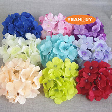 100pcs 7.5CM PE artificial rose flower diy wedding  bouquet brooch wrist faux leather 5 colors