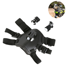 цена на SHOOT Fetch Dog Harness Chest Strap for GoPro Hero 7 5 6 4 Session SJCAM SJ4000 Xiaomi Yi 4K H9 Action Camera Go Pro Accessory