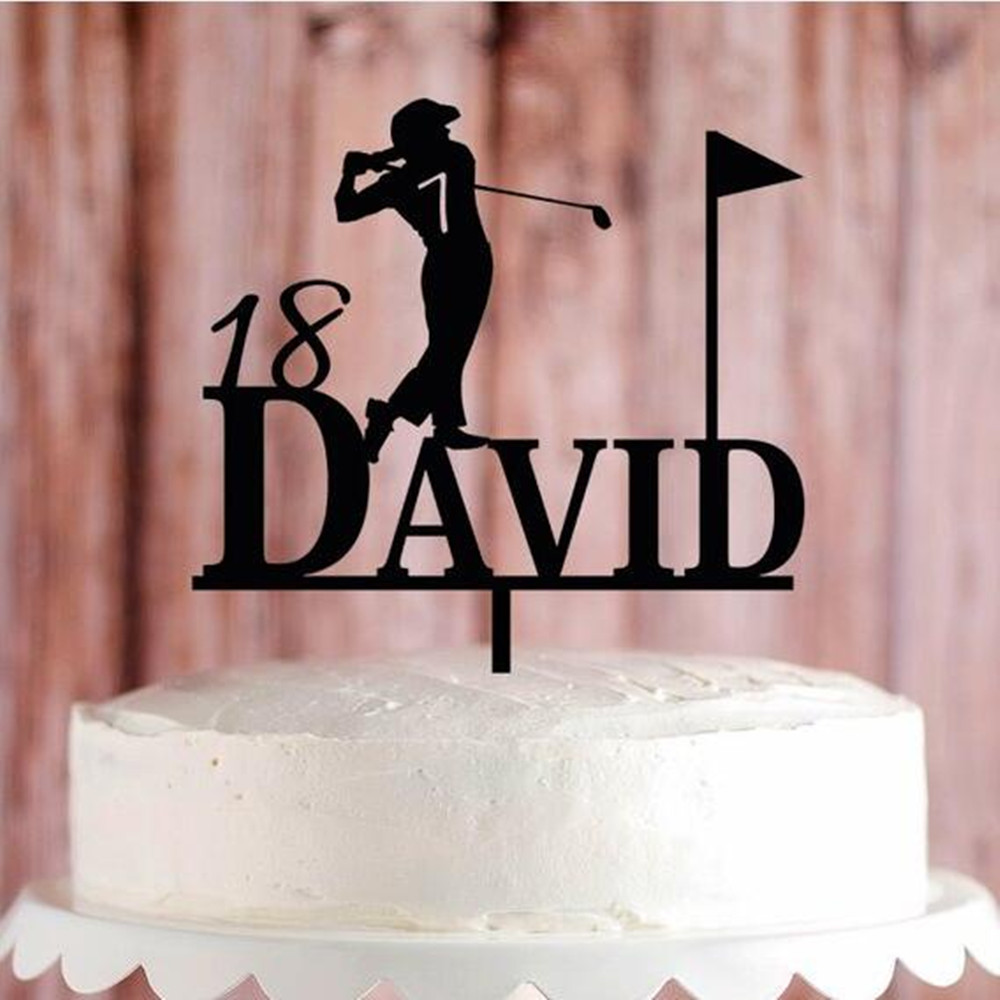 Marvelous Sport Theme Cake Topper Personalized Birthday Party Decoration Funny Birthday Cards Online Bapapcheapnameinfo