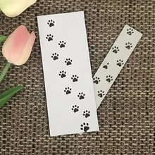 цена JC Metal Cutting Dies Scrapbooking Animal Paw Print Bar DIY Album Embossing Folder Cards Paper Photo Template Background Stencil онлайн в 2017 году