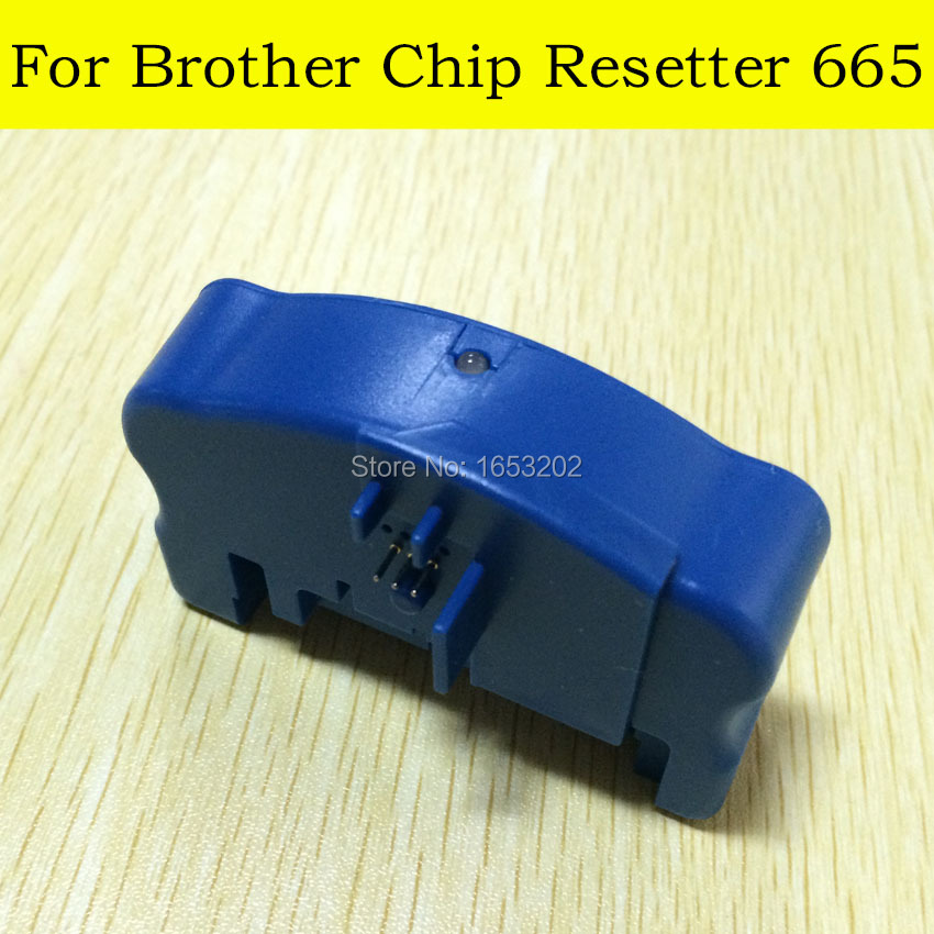 1 PC Chip Resetter For Brother LC233 LC235 LC237 LC239 Cartridge For Brother MFC-J5320DW/J5720DW/J4120DW/J4620DW Printer ada instruments 3d liner 2v