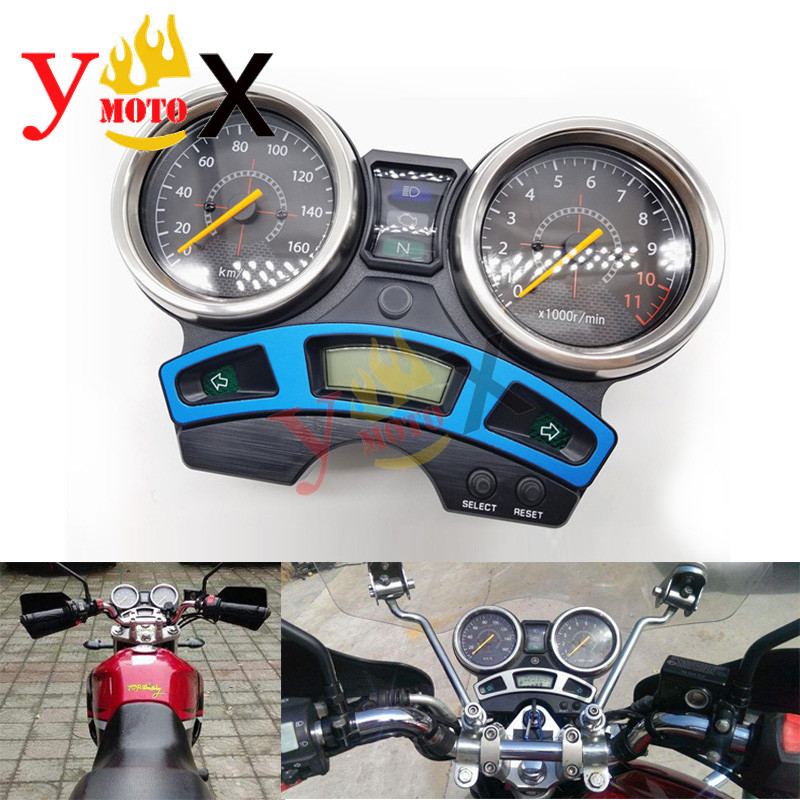 YBR 250 Instrument Assembly Gauges Cluster Speedometer Tachometer For Genuine Yamaha YBR250