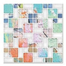 (Ship From US) 3D Decorative Peel And Stick Tiles For Kitchen Backsplash,  Backsplash Tile Sticker Vinyl Wall Covering,tile Kitchen Wall 4 PCS