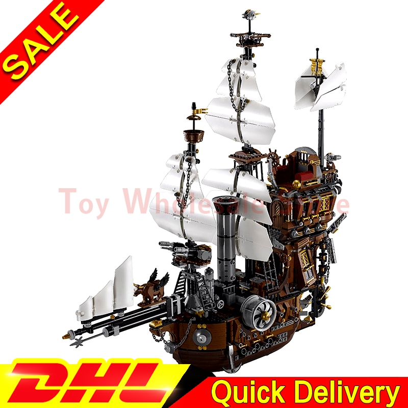 LEPIN 16002 Modular MetalBeard's Sea Cow Building Block Set Bricks Kits Set lepins Toys Clone 70810 lepin 16002 pirate ship metal beard s sea cow model building kit block 2791pcs bricks compatible with legoe caribbean 70810