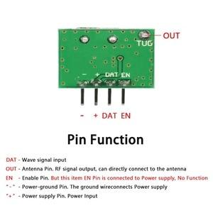 Image 3 - QIACHIP 315Mhz Lagerungs FRAGEN RF Sender Modul DC 1CH DIY Kits Drahtlose Fernbedienung Für MCU Arduino Uno