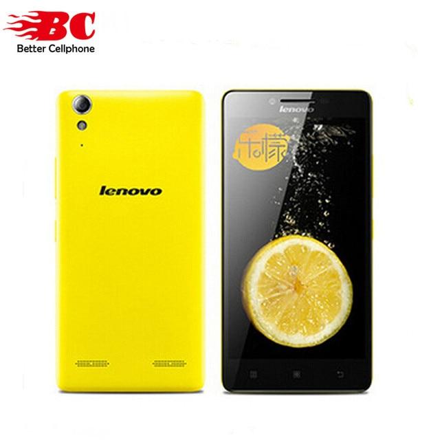 Original lenovo k3 k30-w msms8916 1g ram 16g rom quad core 5.0 polegada 1280*720 4G FDD-LTE Android 4.4 Dual Sim Celular Inteligente telefone