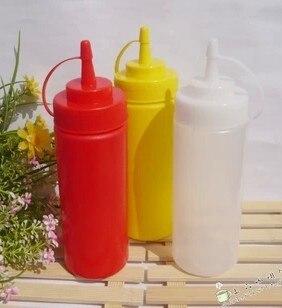 Vasetti di marmellata salsa di olio da cucina in plastica ketchup ...