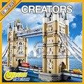 4295pcs The Creator London Tower Bridge Building Brick Kit Toys Gift Compatible Legoes 10214