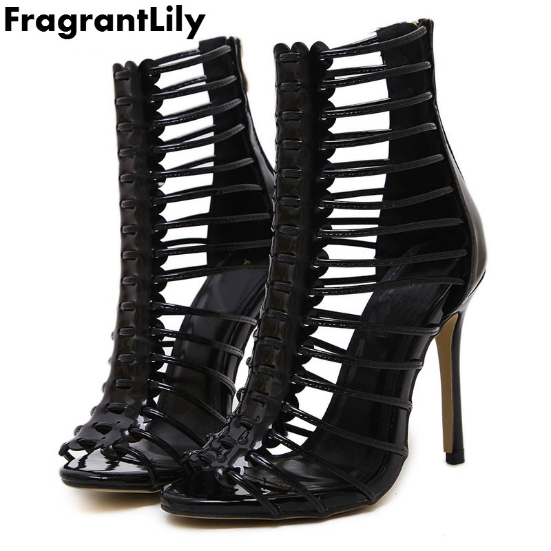 FragrantLily women lace fashion high heels Gladiator fish mouth summer high quality sandals shoes woman 35-40 yard free shipping fish mouth gladiator sandals women platform wedges shoes 2017 summer beaches ladies shoes korean style creepers women s sandles