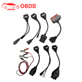 OBD2 Full Set Car cable 8 pcs For TCS CDP Pro OBD2 Car Connect Cable diagnostic-tool Interface cable