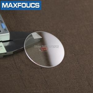 Image 4 - フラット2.5ミリメートル2.2/2.3/2.4ミリメートル直径20〜29.5ミリメートルサファイアガラス腕時計部品ラウンド透明クリスタルガラス時計修理のための