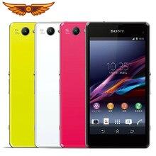 Original sony xperia z1 compacto d5503 telefone celular 3g/4g android quad-core 2gb ram 4.3