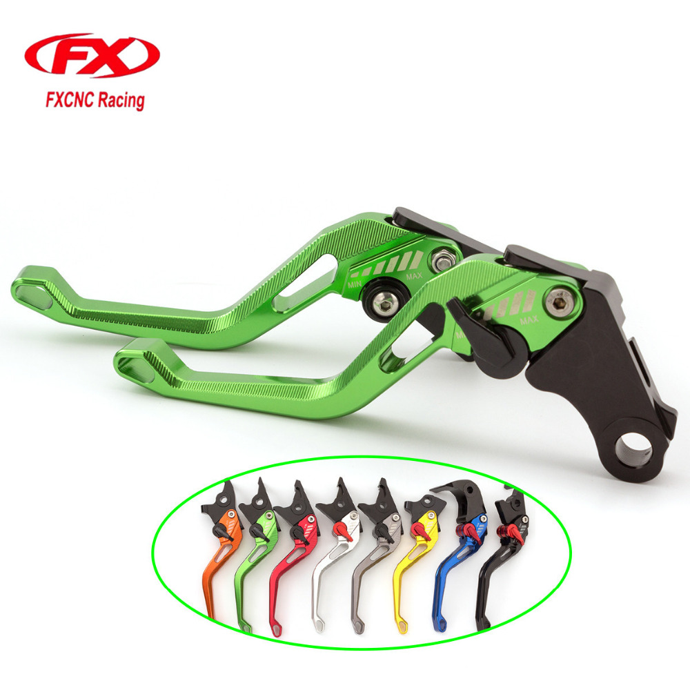 3D Rhombus CNC Aluminum Adjustable Motorcycle Brake CLutch Levers Advailable For KYMCO XCITING 250 300 500 400 All years fx cnc motorcycles folding extendable brake clutch levers aluminum for kymco downtown 125 200 300 350 xciting 250 300 500 400